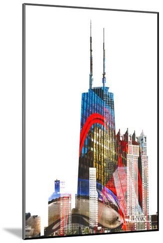 Willis Tower-THE Studio-Mounted Premium Giclee Print