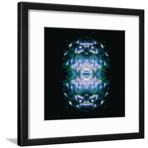 Fireworks Rose 13-David Jordan Williams-Framed Art Print