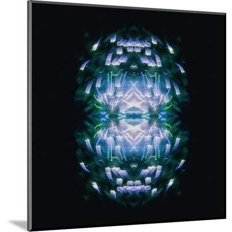 Fireworks Rose 13-David Jordan Williams-Mounted Premium Giclee Print