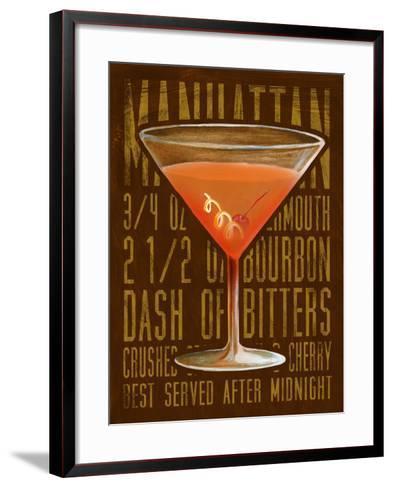 Manhattan (Vertical)-Cory Steffen-Framed Art Print
