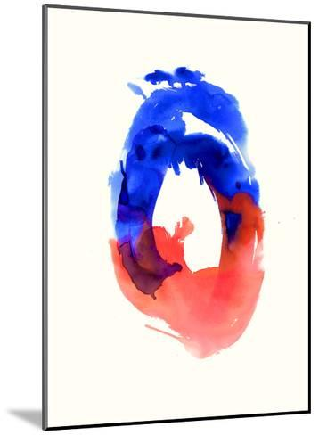 Watercolor Study No.5-Emma Jones-Mounted Premium Giclee Print