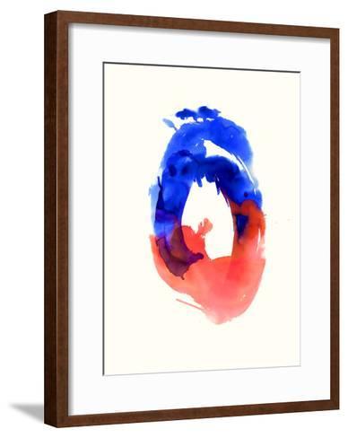 Watercolor Study No.5-Emma Jones-Framed Art Print