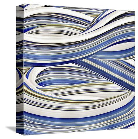Squeegee Blues 2-Arabella Studios-Stretched Canvas Print