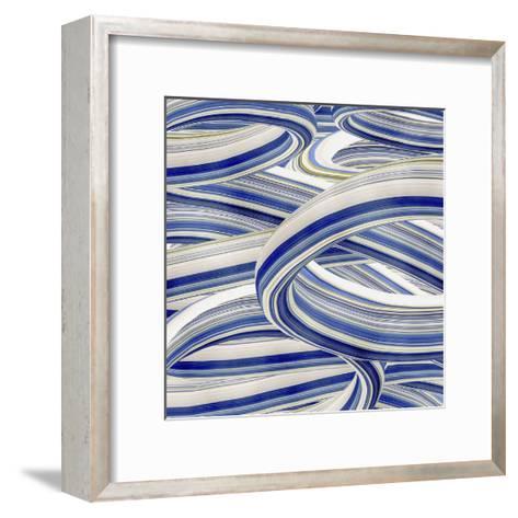 Squeegee Blues 4-Arabella Studios-Framed Art Print