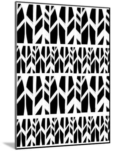 Black Leaves-Melanie Biehle-Mounted Premium Giclee Print