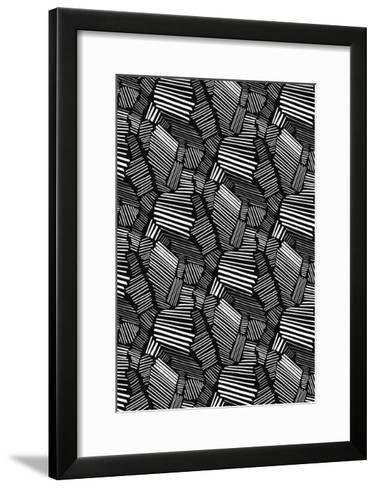 Graphic Statement-Melanie Biehle-Framed Art Print