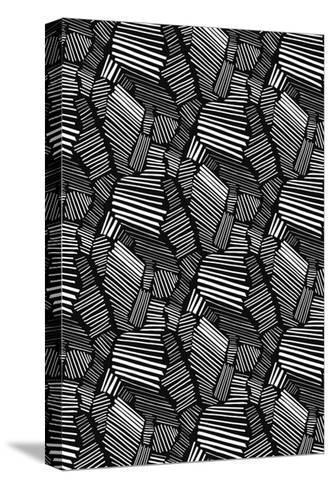 Graphic Statement-Melanie Biehle-Stretched Canvas Print