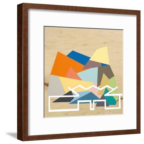 Palm Springs Home 3-Kyle Goderwis-Framed Art Print