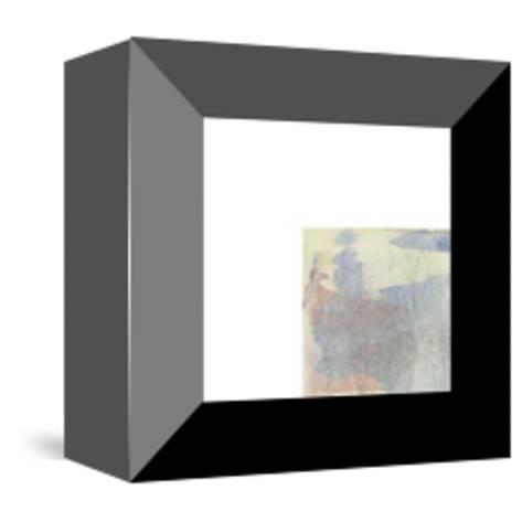 Sunrise Stag-Maeve Harris-Mounted Premium Giclee Print