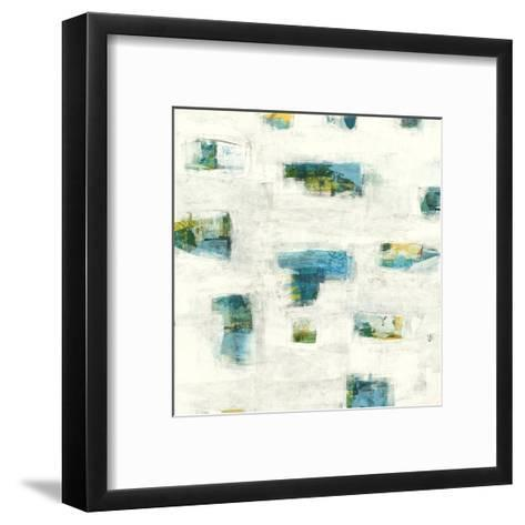 Breakthrough Blues 2 - Recolor-Maeve Harris-Framed Art Print
