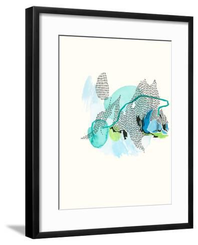 Mountain Abstract 5-Natasha Lawyer-Framed Art Print