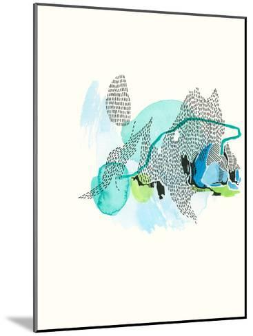 Mountain Abstract 5-Natasha Lawyer-Mounted Premium Giclee Print
