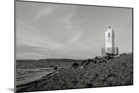 Lighthouse, Browns Point-Steve Bisig-Mounted Premium Photographic Print