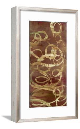 Copper Line 1-Maeve Harris-Framed Art Print