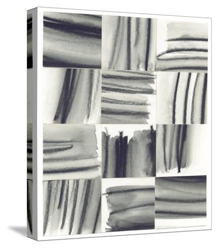 Squares 5-Erin Lin-Stretched Canvas Print