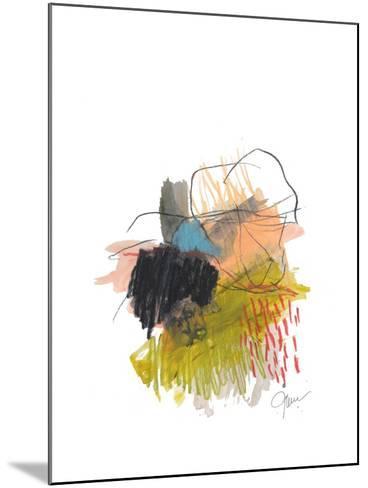 Abstract Landscape No. 30-Jan Weiss-Mounted Art Print
