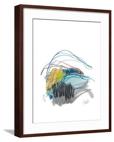 Abstract Landscape No. 19-Jan Weiss-Framed Art Print