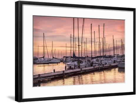 Set to Sail-Danny Head-Framed Art Print
