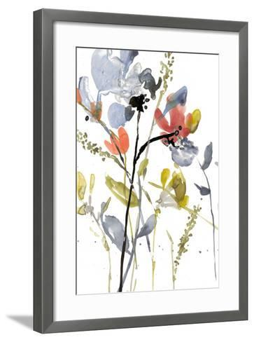 Flower Overlay II-Jennifer Goldberger-Framed Art Print