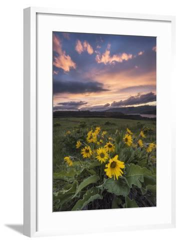 Sunset at the Gorge-Danny Head-Framed Art Print
