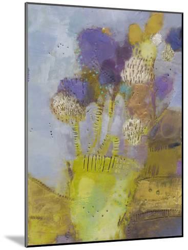 Blumen II-Sue Jachimiec-Mounted Premium Giclee Print