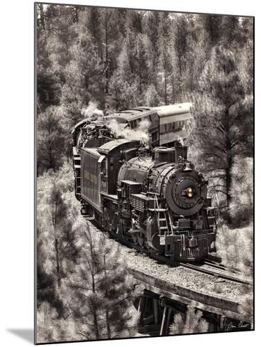 Train Arrival III-David Drost-Mounted Photographic Print
