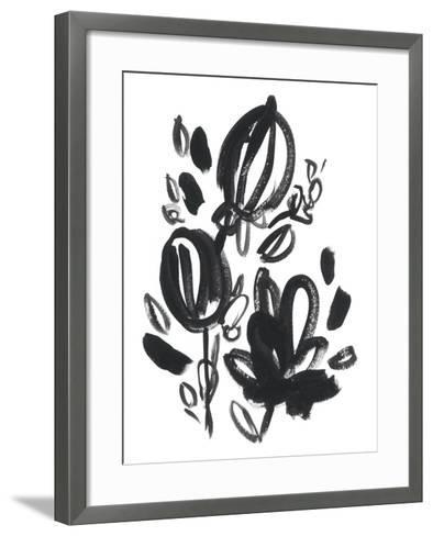 Cameo Bloom VI-June Erica Vess-Framed Art Print
