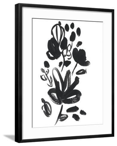 Cameo Bloom V-June Erica Vess-Framed Art Print