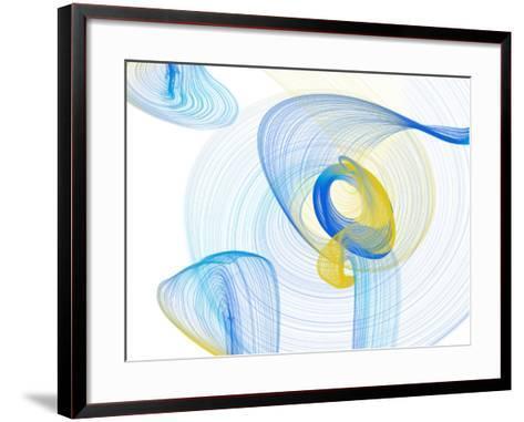 Touching Light II-Irena Orlov-Framed Art Print