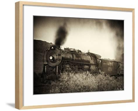 Train Arrival I-David Drost-Framed Art Print