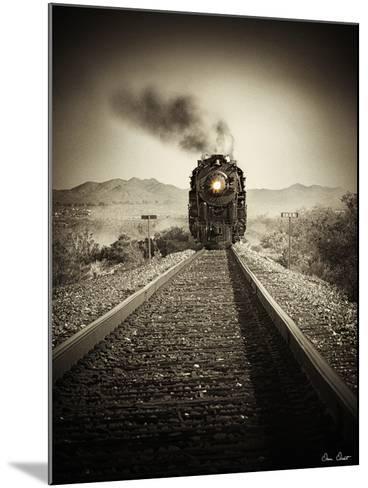 Train Arrival II-David Drost-Mounted Photographic Print