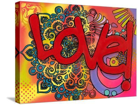 Love I-Dean Russo-Stretched Canvas Print