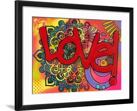 Love I-Dean Russo-Framed Art Print