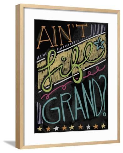 Chalk it Up 3-Holli Conger-Framed Art Print