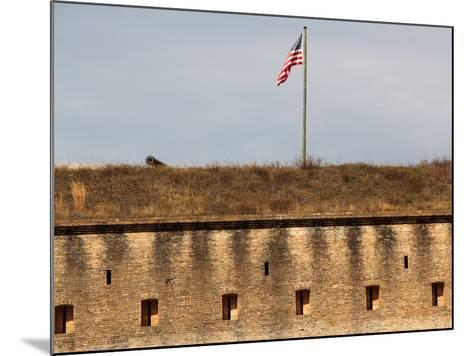 Fort Barrancas, Gulf Islands National Seashore, Pensacola, Florida Gulf Coast-William Silver-Mounted Photographic Print