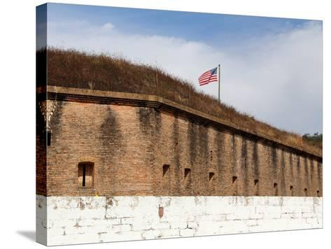 Fort Barrancas, Gulf Islands National Seashore, Pensacola, Florida Gulf Coast-William Silver-Stretched Canvas Print