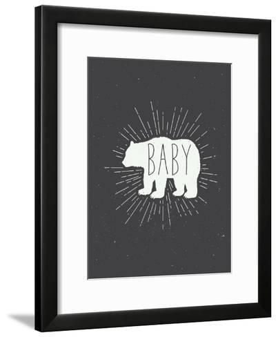 Baby Bear-Kindred Sol Collective-Framed Art Print