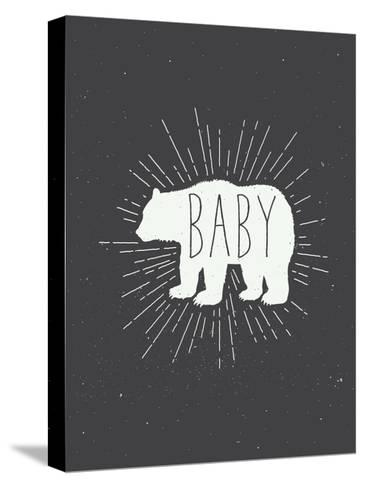 Baby Bear-Kindred Sol Collective-Stretched Canvas Print
