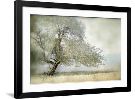 Tree in Field of Flowers-Mia Friedrich-Framed Art Print
