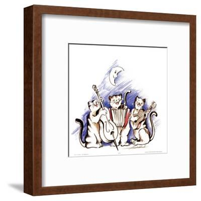 Katzenjammer-Alfred Gockel-Framed Art Print