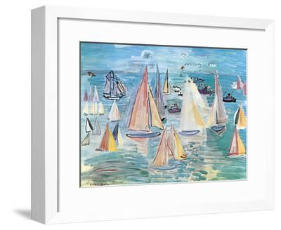 Regatta-Raoul Dufy-Framed Art Print
