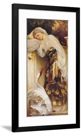 Odalisque-Frederick Leighton-Framed Art Print