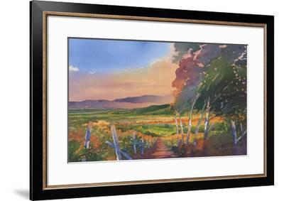 Valley Vista-Douglas Chun-Framed Art Print