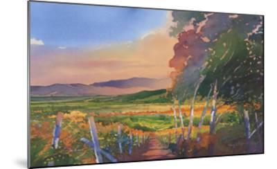 Valley Vista-Douglas Chun-Mounted Art Print