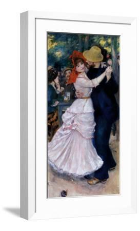 Dance at Bougival-Pierre-Auguste Renoir-Framed Art Print