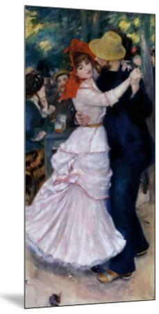 Dance at Bougival-Pierre-Auguste Renoir-Mounted Art Print