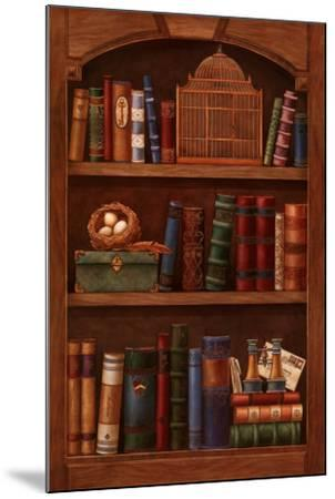 Literature II-Yuriko Takata-Mounted Art Print