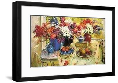 Morning Still Life-Ovanes Berberian-Framed Art Print