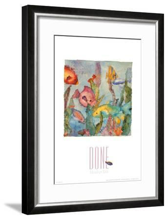 Heads or Tails-Linn Done-Framed Art Print