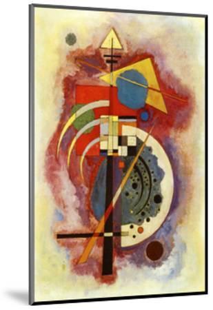 Hommage to Grohmann-Wassily Kandinsky-Mounted Art Print